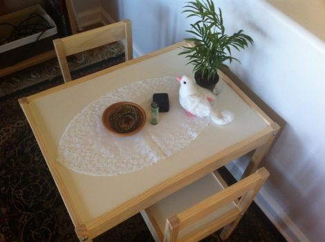 Peace Table at Home