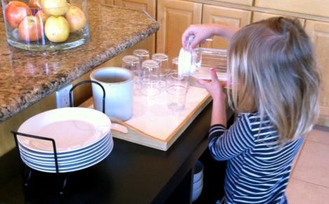 Kid-friendly kitchen